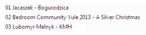 Muzykoteka nr 215 - Yule KMH