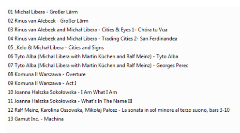 Muzykoteka nr 276 - Liber me de Libera Michaelus