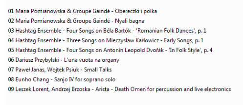 Muzykoteka nr 298 - Opos Opus